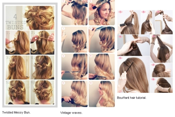 Holiday Party Hairstyles you can do at Home