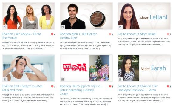 New Ovation Hair Blog